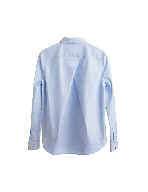 Poplin Pleat-Back Shirt...