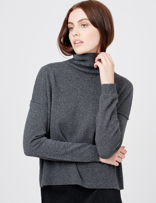 Cotton Cashmere Crewneck